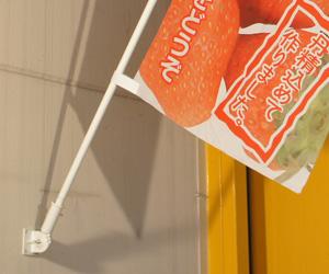 壁面取り付け用フラッグスタンド 使用例2