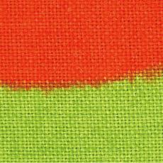 綿のぼり 黄色と赤色の境界線に若干にじみが発生します
