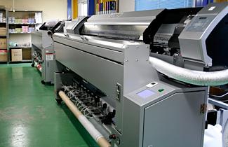 のぼり インクジェット印刷機