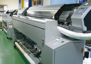 のぼり専用インクジェット印刷機