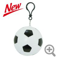 携帯用レインコートボール型サイズ大サッカーボール
