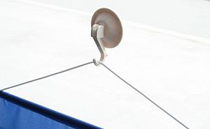 強力吸盤フック 使用例2