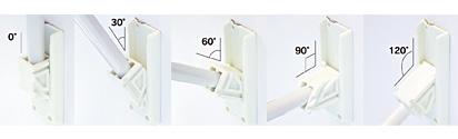三角フラッグポールセット 使用例1